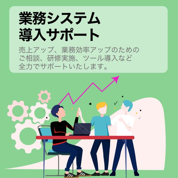 業務システム導入サポート